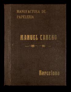 Primer catálogo documentado de la empresa.